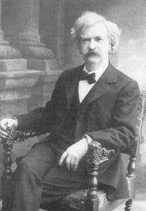 Mark Twain in Vienna, 1897