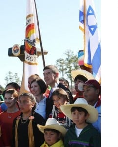 Native American supporters of Israel