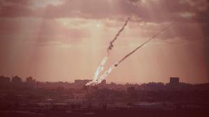 Cohetes disparados contra Israel desde Gaza.  (Foto: IDF)