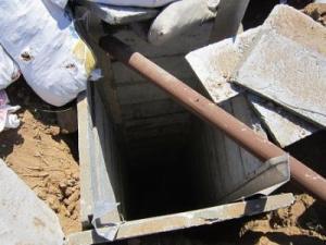 Punto de acceso al túnel terrorista Hamas.