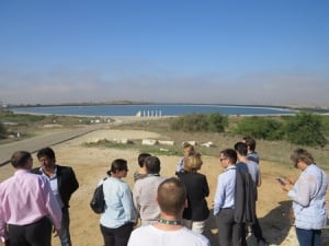 Nir Am Reservoir: Water in the Heart of the Desert, (Photo: kkl.org.il)