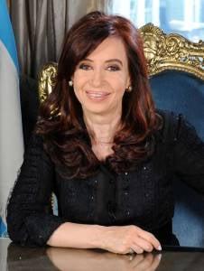 President Cristina Fernandez de Kirchner. (Photo: wikipedia)