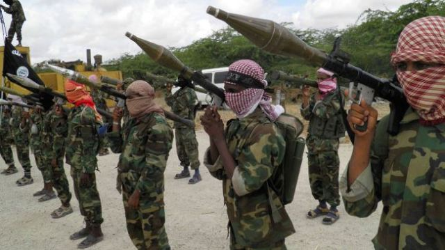 Al-Shabab terrorists in Somalia. (Photo: PressTV)