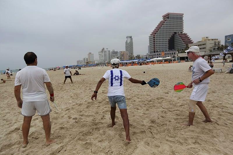 Matkot Tel Aviv beach