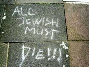 Anti-semitism in London