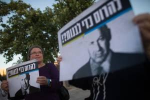Pro-settlement protest