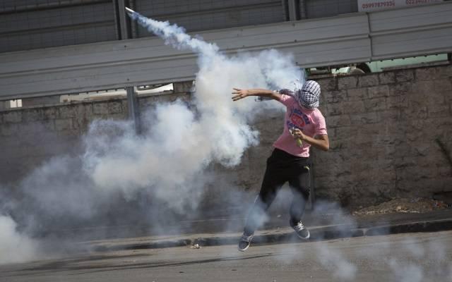 Palestinian riot