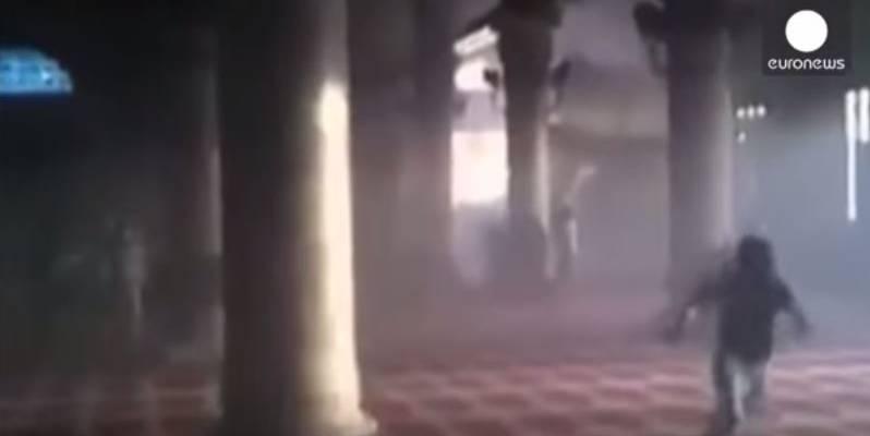 Clashes Break Out at Al Aqsa Mosque