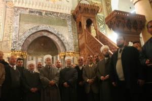 Islamic Waqf inside Al-Aqsa