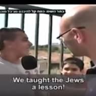 Palestinian Boy Reveals Shocking Anti-Semitism and Joy Over Palestinian Terror Attacks