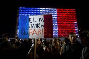 paris attacks Tel Aviv