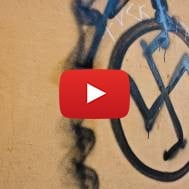 Swastika graffiti
