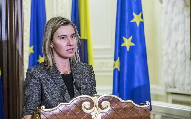 EU's High Representative for Foreign Affairs Federica Mogherini