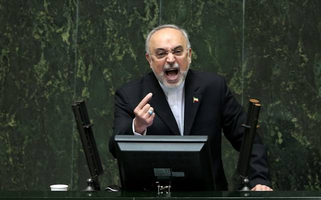 Head of Iran's Atomic Energy Organization Ali Akbar Salehi