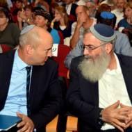 Naftali Bennett and David Stav