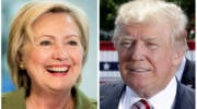 Donald Trump, Hillary Clinton