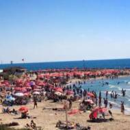 PR campaigns promoting a sensible attitude to sunbathing have made a positive impact in Israel, where people flock to the beautiful beaches. (go-telaviv.com)
