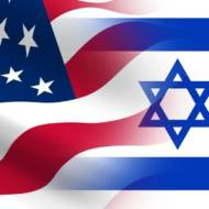Israel US flag