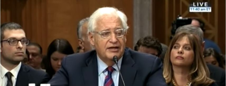 David Friedman, 'Close Friend of Israel,' Confirmed as US Ambassador