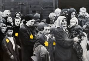 holocaust painting