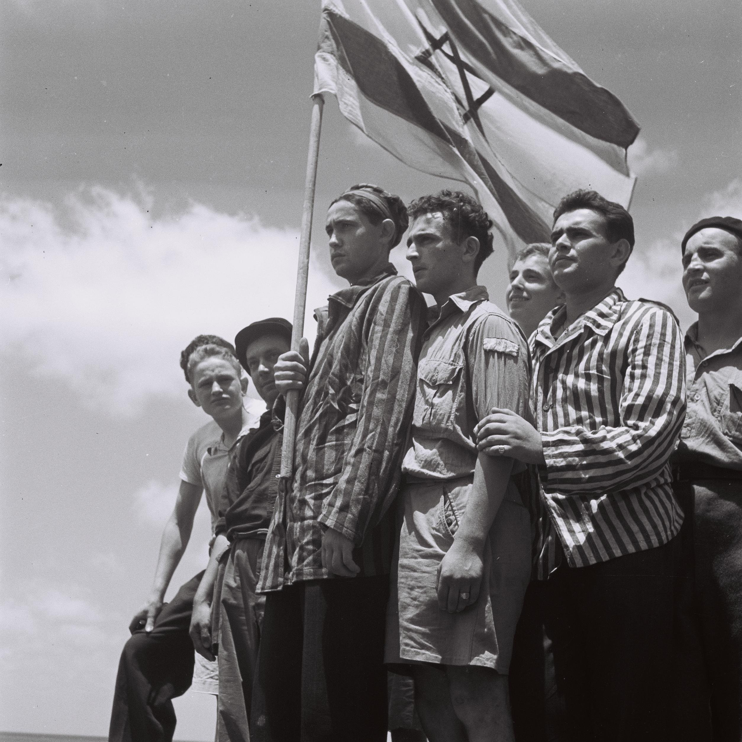 Buchenwald survivors arrive in Haifa