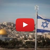 Israeli flag Temple Mount