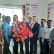 Inauguration ceremony of the CoE for cut flowers