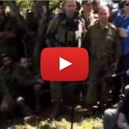 Netanyahu visits IDF troops