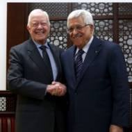 Jimmy Carter and Mahmoud Abbas