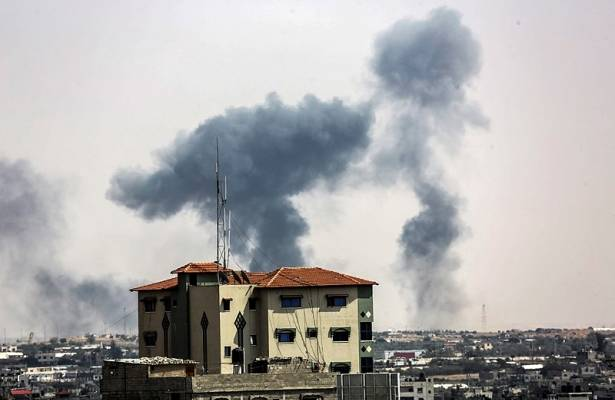 Palestinian Terrorists Fired Rockets At Israel