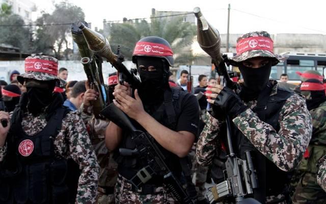 PFLP terrorists in Gaza