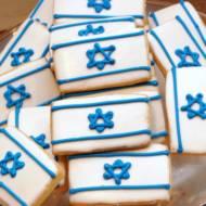 Israeli Flag Cookie