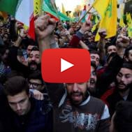 Hezbollah supporters in Beirut