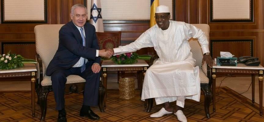 Netanyahu and Chad President Deby