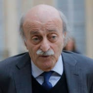 Lebanese Druze leader Walid Jumblatt. (AP Photo/Michel Euler)