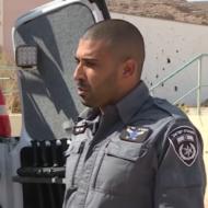 Shahar Zamor of the Yasam Eilat unit. (screenshot)