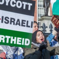 Anti-Israel demonstration