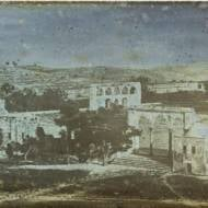 Temple Mount 1844, one of the oldest photos ever taken of Jerusalem (Israel Rising: Ancient Prophecy Modern Lens)