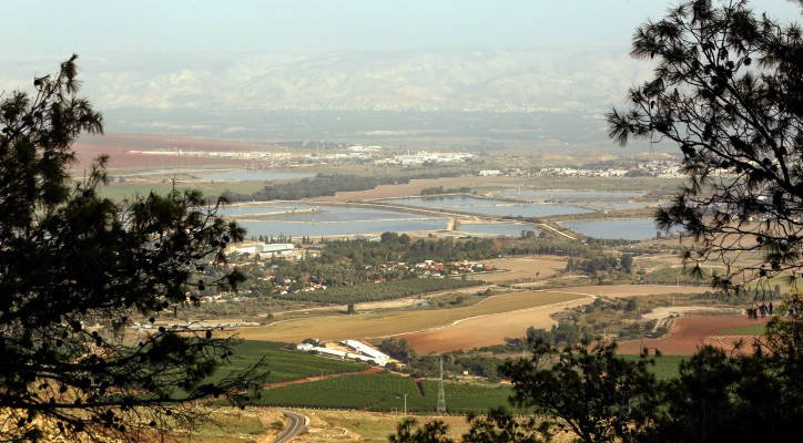 Kibbutz Afikim in the Jordan Valley