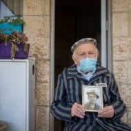holocaust survivor in Jerusalem