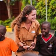 Israeli volunteer in Ghana
