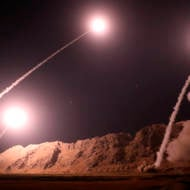 Iran fires missiles