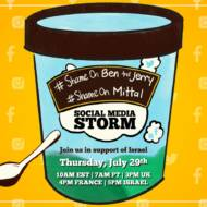 Ben and Jerry's Twitter Storm Invite